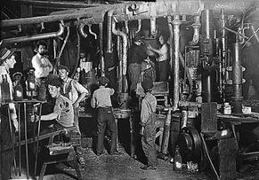 factory workers in the industrial revolution essay